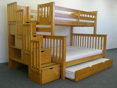 Triple bunk