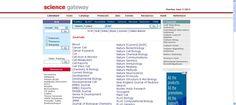Science GateWay es un directorio de enlaces y recursos para  la ciencia y la investigación biomédica.