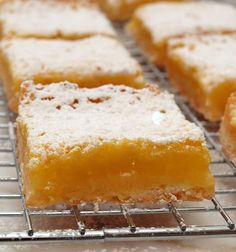Luscious Lemon Squares - Once Upon a Chef