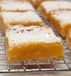 Yummy, simple, lemons bars.