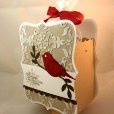Stampin' Up!  Top Note Box  Dana Newsom  Christmas by pat-75