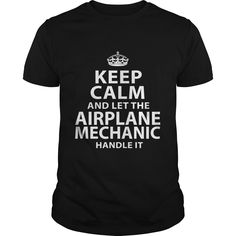 AIRPLANE MECHANIC T-Shirts, Hoodies. Check Price Now ==► https://www.sunfrog.com/LifeStyle/AIRPLANE-MECHANIC-118131795-Black-Guys.html?id=41382