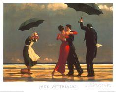 Der singende Butler Poster von Jack Vettriano bei AllPosters.de