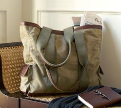 A great weekend bag. I want one.