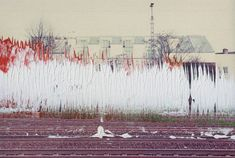 Untitled by Gerhard Richter. Medium: Oil on colour photograph; Gerhard Richter, Painting On Photographs, Most Expensive Painting, Paint Photography, European Paintings, Urban Landscape, Beach Art, Les Oeuvres, Painting Prints