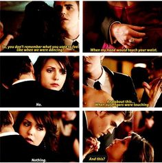 "S4 Ep19 ""Pictures of You""  -  Elena and Stefan"