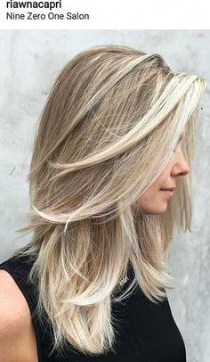 9. Blonde Medium Length Hairstyles