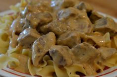 Crock Pot Beef Stroganoff .. One of our families favorites just got easier!