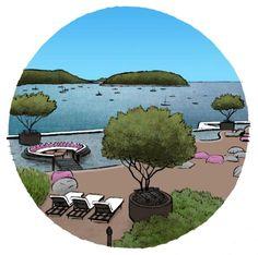 """Das Fünf-Sterne-Hotel """"Nai Harn"""" liegt im Süden von Phuket"""