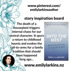 The stunning inspiration board for Into the Mist, by Emily Larkins. #intothemist #intothemistshortstory #intothemistemilylarkins #emilylarkinsauthor #emilylarkins #amazonkindle #kindleshortstory #kindlefiction #shortfiction #fictionstory #magicalrealism #lifechangesstory #familytraditionstory #newzealandauthor #newzealandwriter #kiwiauthor #indieauthor #indiepublished #lifechange