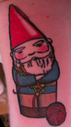 gnome tattoo - Google Search