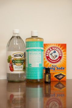 Make your own bathroom cleaner
