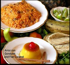 Puerto Rican Rice | Puerto Rican Rice and Delicate Flan | Flickr - Photo Sharing!