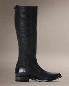 Melissa Button Back Zip - View All Women's Boots - Western Boots, Riding Boots & More - The Frye Company