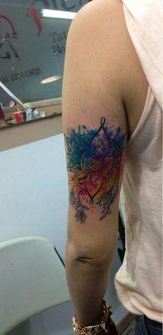 (37) watercolor tattoo | Tumblr