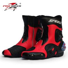 Pro motorcycle shoes casual automobile race middle boots off-road boots automobile race motorcycle leather shoes boots Mens Riding Boots, Motorcycle Riding Boots, Motorcycle Leather, Riding Gear, Motorcycle Safety Gear, Waterproof Motorcycle Boots, Waterproof Shoes, Ankle Shoes, Shoe Boots
