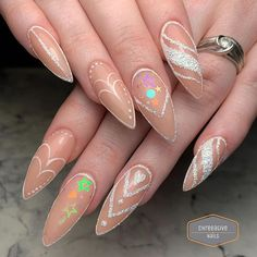 Natural nail overlay yep these are her OWN nails with an acrylic overlay. This lovely takes incredible care of her nails between her 4 weekly appointments. Maybelline, Acrylic Overlay, Nail Pro, Nails Magazine, Nail Inspo, Natural Nails, Swag Nails, Gel Polish, Acrylic Nails