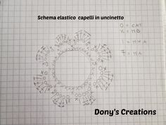 Dony's Creations by Donatella Saralli : Elastico capelli rivestito in uncinetto _ pattern free italiano