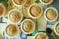 Sitron muffins med valmuefrø - myfoodpassion