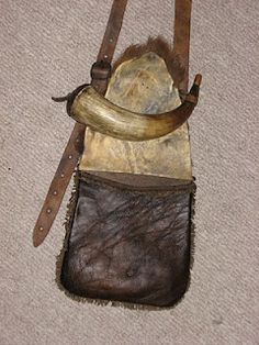 Hunting Pouch by Shawn Webster - BACK