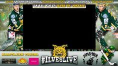 Live stream / TV graphics for #IlvesLive talkshow.