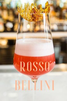 Vodka, raspberry and egg whites create this delicate and pretty pink cocktail that tastes as good as it looks. The Rosso Bellini is a delicious fruity starter to the holiday festivities and is easy to drink anytime of day.