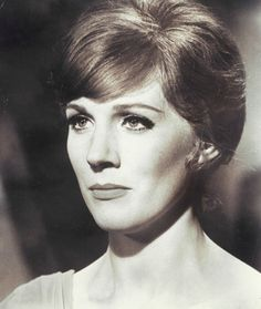 Julie Andrews is just so beautiful. I kinda want to steal her haircut.