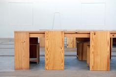 Donald Judd, Arena Furniture (Indoor) by ydhsu, via Flickr