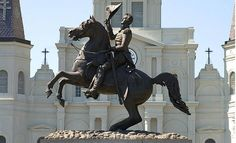 Statue of Andrew Jackson in Washington, DC.