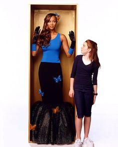 """Disney's """"Life-Size"""" starring Tyra Banks and Lindsay Lohan Life Size Movie, Eve Costume, Bank Fashion, Barbie, Photoshoot Themes, Tyra Banks, Lindsay Lohan, 2000s Fashion, Black Girl Fashion"""