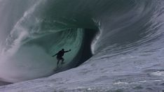 astounding footage of the scariest waves ever surfed shot by cinematographer Chris Bryan off the coast of Tahiti