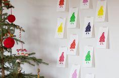 [dandee]: Secret Santa Advent Calendar. Christmas Thoughts, Family Christmas, All Things Christmas, Christmas Time, Christmas Crafts, Merry Christmas, Christmas Ideas, Countdown Calendar, Advent Calendars
