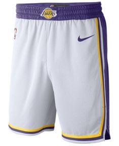 Men's Los Angeles Lakers White 201920 Association Edition Swingman Shorts sold by coutl. Shop more products from coutl on Storenvy, the home of independent small businesses all over the world. Nba Los Angeles, People Brand, Girls Winter Coats, Running Pants, Sport Shorts, Lakers Shorts, Boutique, Sports Fan Shop, Basketball