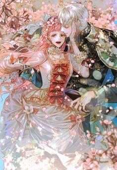 Manga Couple, Anime Love Couple, Anime Couples Drawings, Anime Couples Manga, 5 Anime, Anime Guys, Anime Art Girl, Manga Art, Manhwa