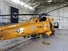 Yellow USCG MH-60 Jayhawk at Coast Guard Air Station San Diego [3264x2448] [OC]