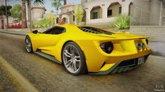 The Ford GT first captured the hearts and minds of many drivers around the world in the A mid-engine, two-seater sports car produced by Ford San Andreas Gta, Super Sport, Super Car, Ford Gt 2017, Bugatti Type 57, Gta Cars, Car Guide, Lamborghini Cars, Online Cars