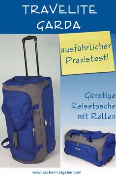 Travelite Garda Praxis Test Praxis Test, Trolley, Suitcase, Carry On Suitcases, Ball Storage, Hook And Loop Fastener, Viajes, Bags, Briefcase