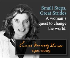 Eunice Kennedy Shriver Special Olympics | In Memoriam - Eunice Kennedy Shriver