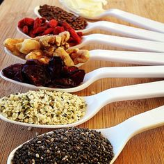 Ingredients for Oatmeal #vegan #vegetarian #health #raw #healthy #food