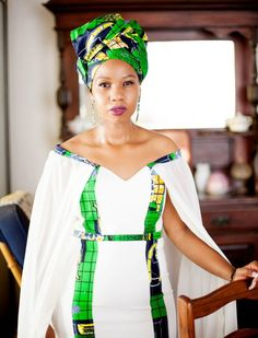 Rustenburg Wedding African Print Wedding Dress, African Print Dress Designs, African Wedding Attire, African Print Fashion, African Design, African Attire, African Wear, African Fashion Dresses, African Women