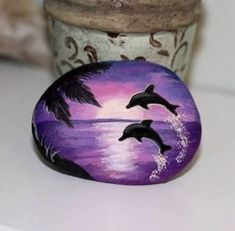 Related posts: Painting Beach Scenes Canvases Trendy Ideas 50 Inspiring DIY Painted Rocks Animals Cats for Summer Ideas Ideas de rocas pintadas – Necesito ideas para pintar piedras para … – … ideas for painting body art makeup Dolphin Painting, Seashell Painting, Mandala Painting, Pebble Painting, Pebble Art, Stone Painting, Diy Painting, Rock Painting Patterns, Rock Painting Ideas Easy