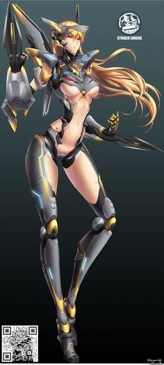 Anime version of Striker Eureka.