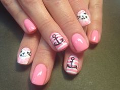 Lovely anchor nails