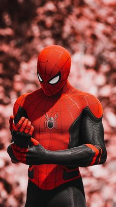 Spiderman Far From Home suit All Spiderman, Spiderman Pictures, Amazing Spiderman, Man Wallpaper, Avengers Wallpaper, Superhero Wallpaper Iphone, Tom Holland, Superhero Poster, Spiderman Poster