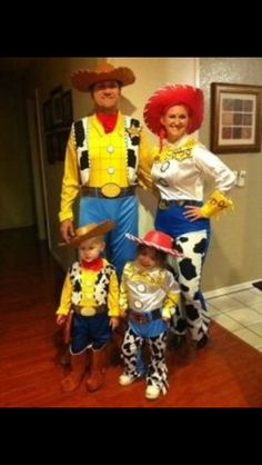 toy story costumes for the family costumes pinterest costumes halloween ideas and toy story theme