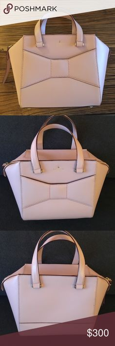 Kate Spade bow purse Brand new pink Kate Spade bow purse. Never been used! kate spade Bags Totes