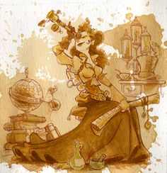Steampunk Revue: Brian Kesinger's Tea Girls