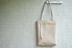 More photos: https://www.etsy.com/listing/172392556/braided-soft-handles-on-a-rustic-waxed    Create your own eco-conscious custom tote bag with