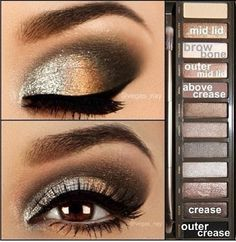 fancy makeup for naked 2 palette