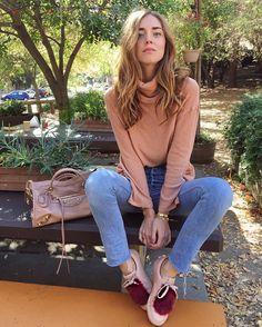 Get Chiara Ferragni's new favourite bag: Holiday Collection Balenciaga Metallic Edge City - LaiaMagazine